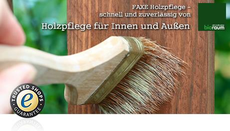 FAXE - Aus Liebe zum Holz