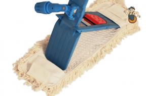Klappmopphalter mit Baumwoll-Bezug 40 x 10 cm Bild 1