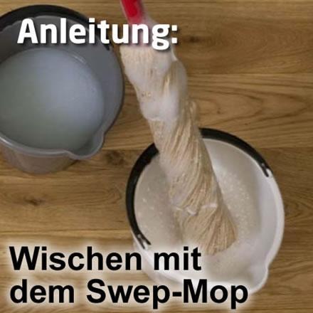 2-Eimer Wischtechnik mit Twistmop / Swep-Mop