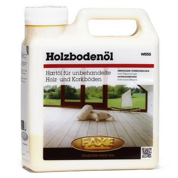 Holzbodenöl weiß 1 Liter