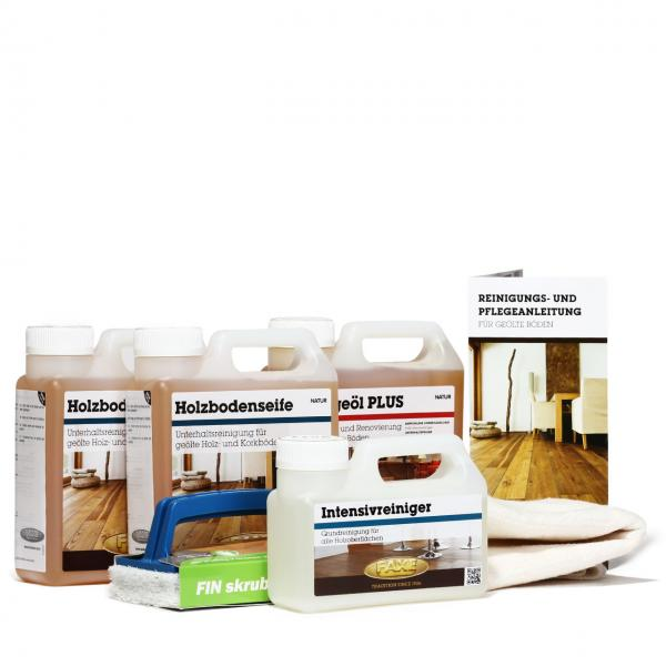Pflegebox mit Pflegeöl natur