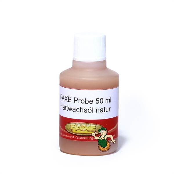 Hartwachsöl natur 50 ml Probe