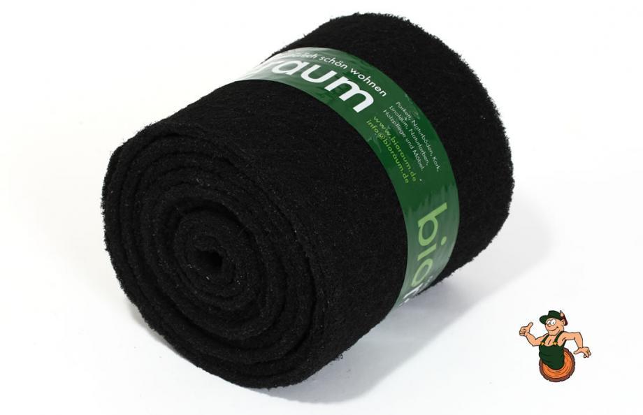 Reinigungspads schwarz auf Rolle XL