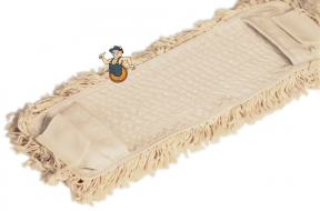 Klappmopphalter mit Baumwoll-Bezug 40 x 10 cm Bild 2