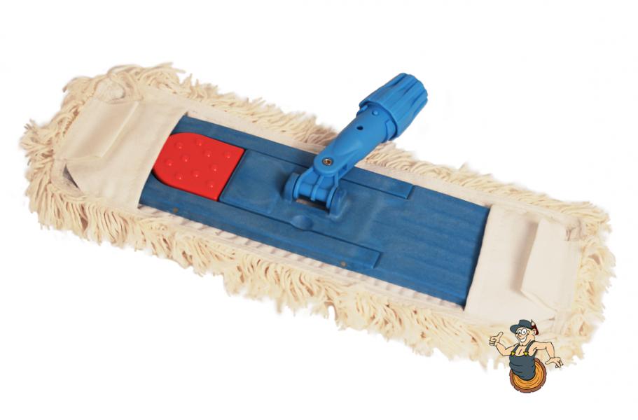 Klappmopphalter mit Baumwoll-Bezug 40 x 10 cm